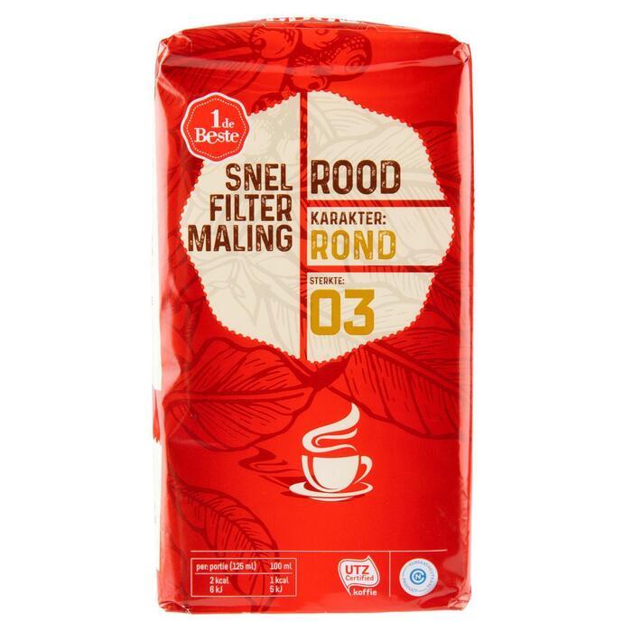 Filterkoffie roodmerk (500g)