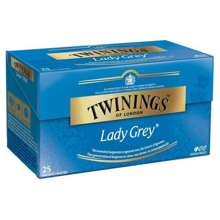 Twinings Lady grey thee (25 × 50g)