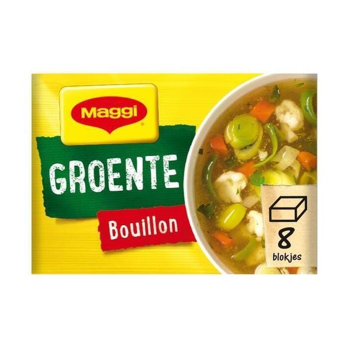Groente bouillon, Vegetarisch (8 tabletten) (tabl, 8 × 81.6g)