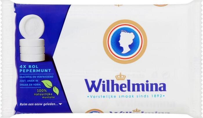 Wilhelmina Pepermunt 4 Rollen (rol, 4 × 196g)