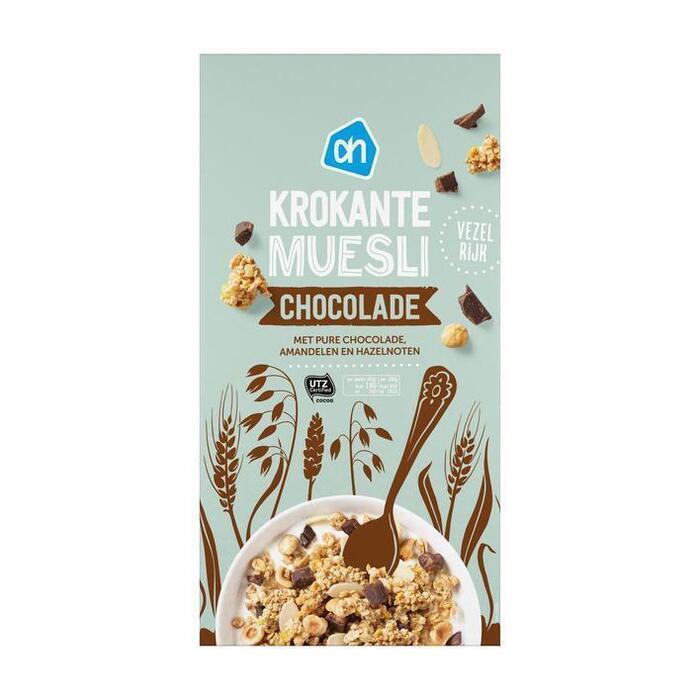 AH Krokante muesli chocolade (600g)