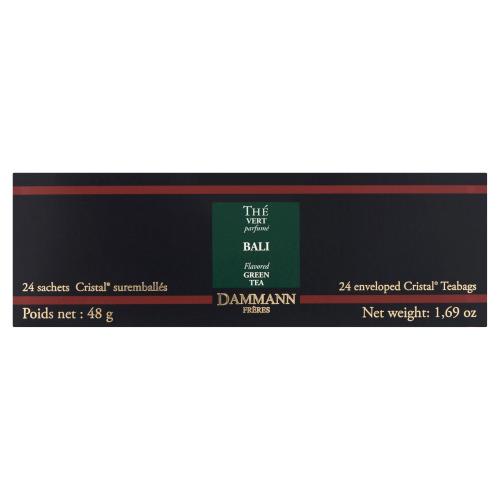Dammann Bali Flavored Green Tea 24 Theezakjes 48 g (24 × 48g)