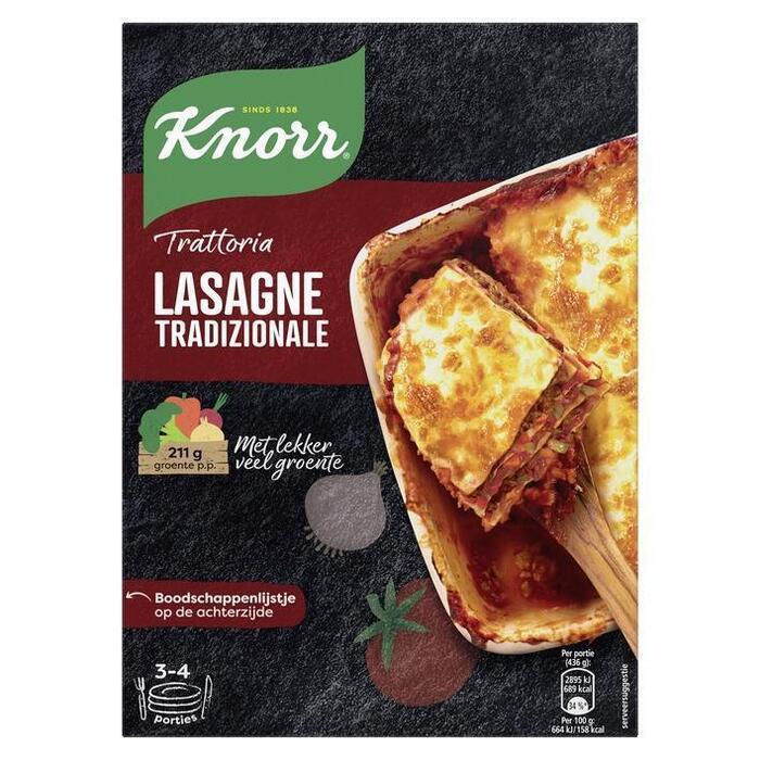 Knorr Maaltijdpakket Trattoria Lasagna Tradizionale 500 g (500g)