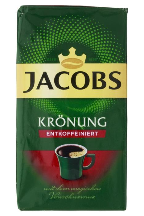JACOBS KROENUNG CAFEINEVRIJE GEMALEN KOFFIE CAFEINEVRIJE 500G BAG (500g)