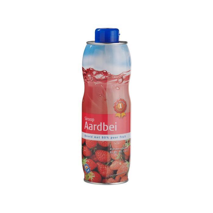 Limonade siroop aardbei (0.75L)