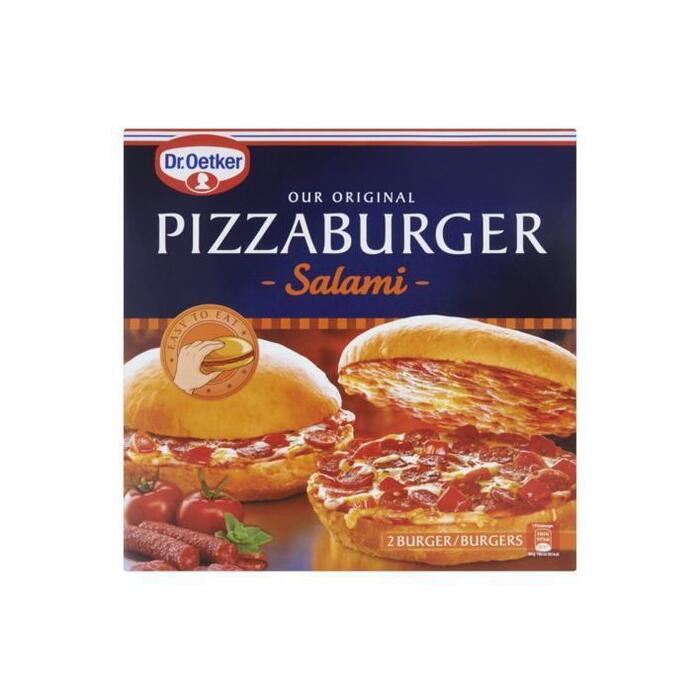 Pizzaburger Salami (Stuk, 2 × 365g)
