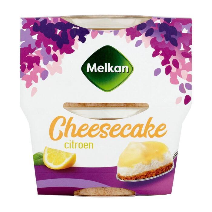 Melkan cheesecake citroen (200g)