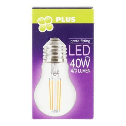 Lamp LED 40W Kogel grote fit helder