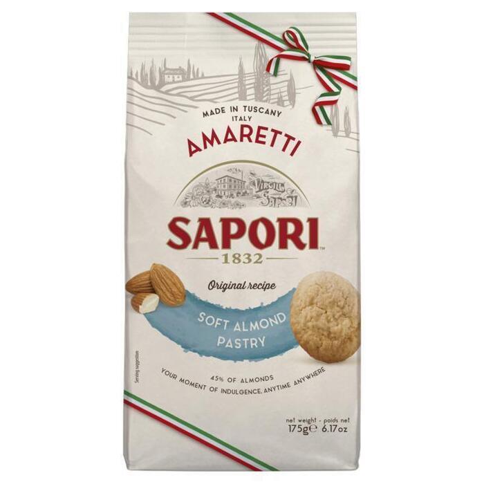 Sapori Amaretti morbidi alla mandorla (175g)
