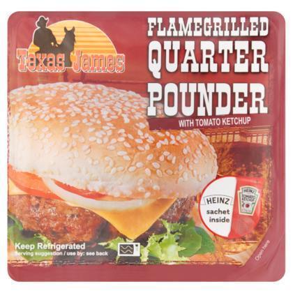 Quarter pounder flamegrilled (193g)