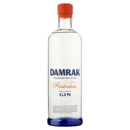 Damrak Gin 0, 7L (rol, 0.7L)