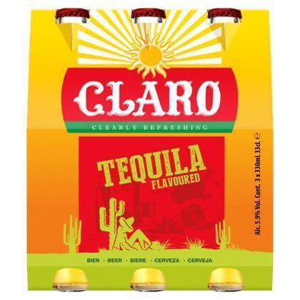 Tequila Bier 3-Pack (rol, 3 × 33cl)