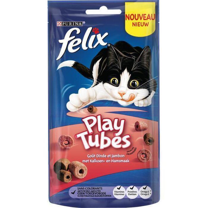 Felix Playtubes kalkoen & ham (50g)