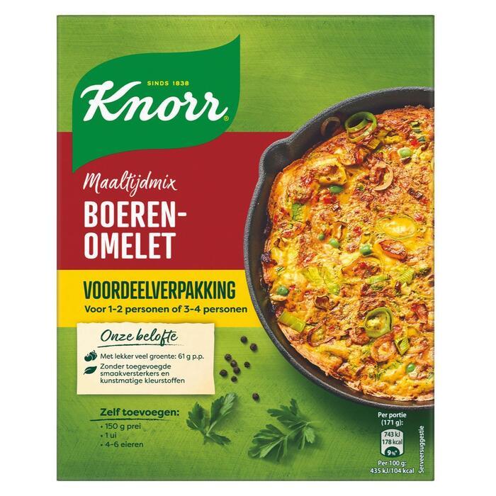 Knorr Maaltijdmix Boerenomelet 2 x 12 g (24g)