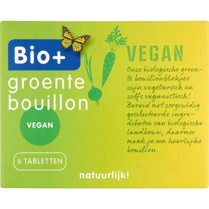 Bio+ Groente bouillonblokjes (60g)