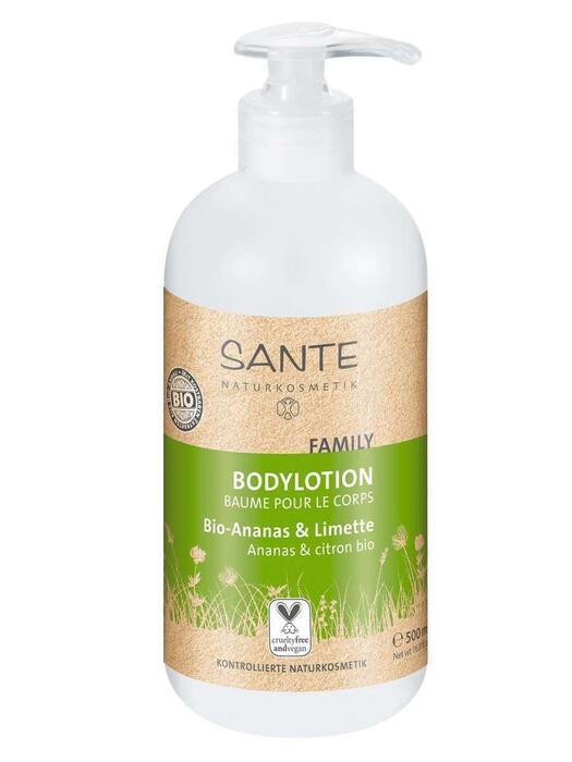 Family Bodylotion Bio-Ananas-Citroen SANTE 500ml (0.5L)