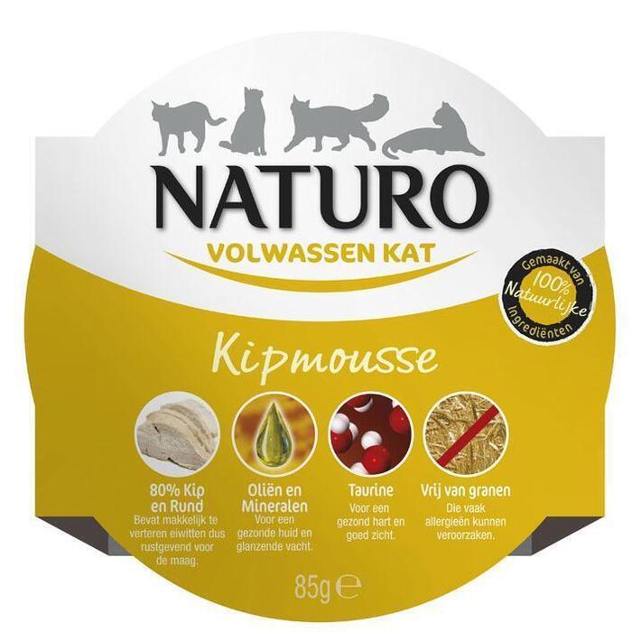 Naturo Kipmousse voor de kat (85g)
