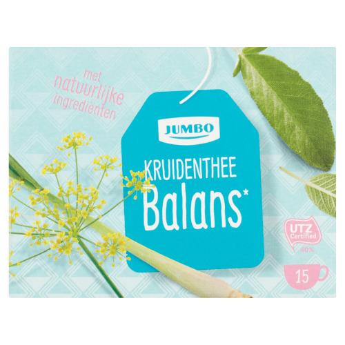 Jumbo Kruidenthee Balans 15 Stuks 22,5 g (22.5g)