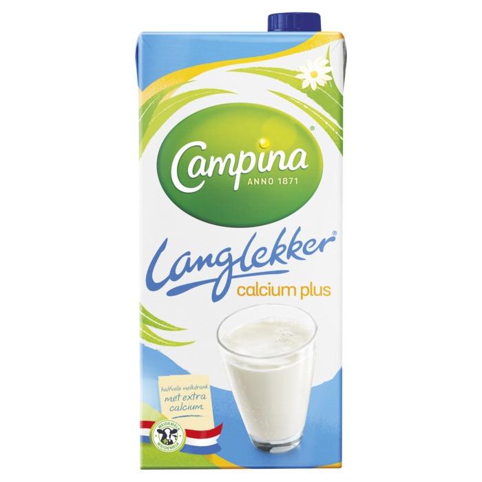 Langlekker Halfvolle Calcium Plus (pak, 1L)