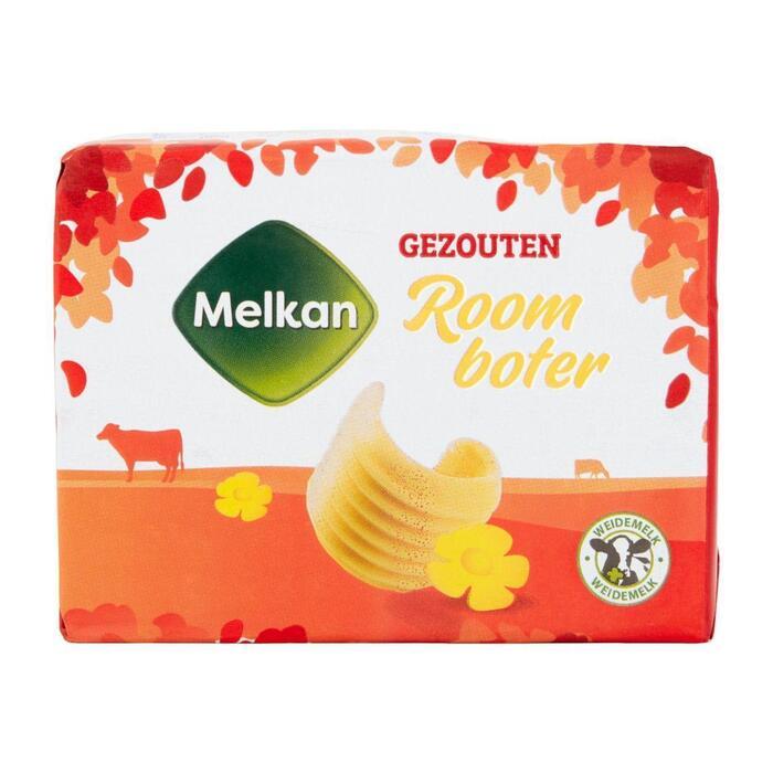 Melkan Roomboter gezouten (250g)