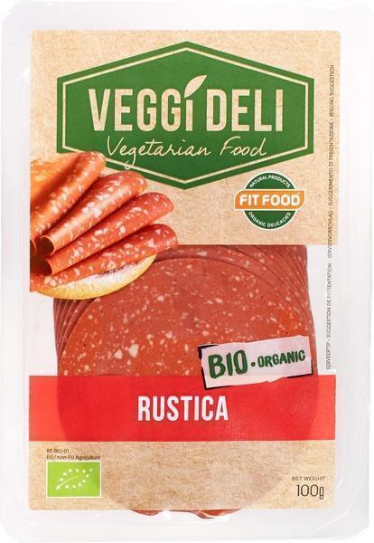 Vegetarische salami (bak, 100g)
