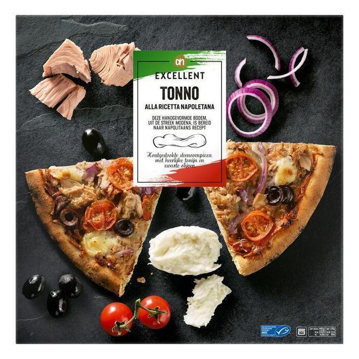 AH Excellent Tonijnpizza (485g)