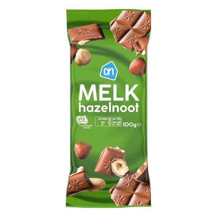 AH Tablet melk-hazelnoot (100g)