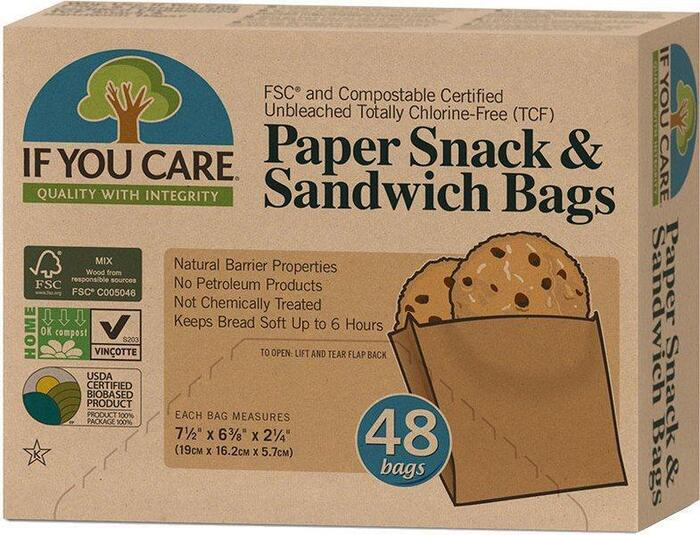 Sandwichzakjes papier gerecycled
