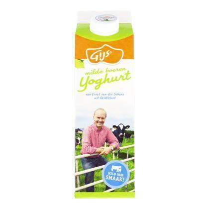 Milde boerenyoghurt (pak, 1L)