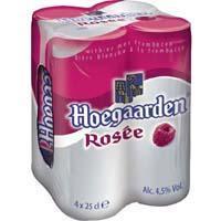 HOEGAARDEN ROSEE BLIK SHRINK Speciaalbieren (blik, 4 × 1L)