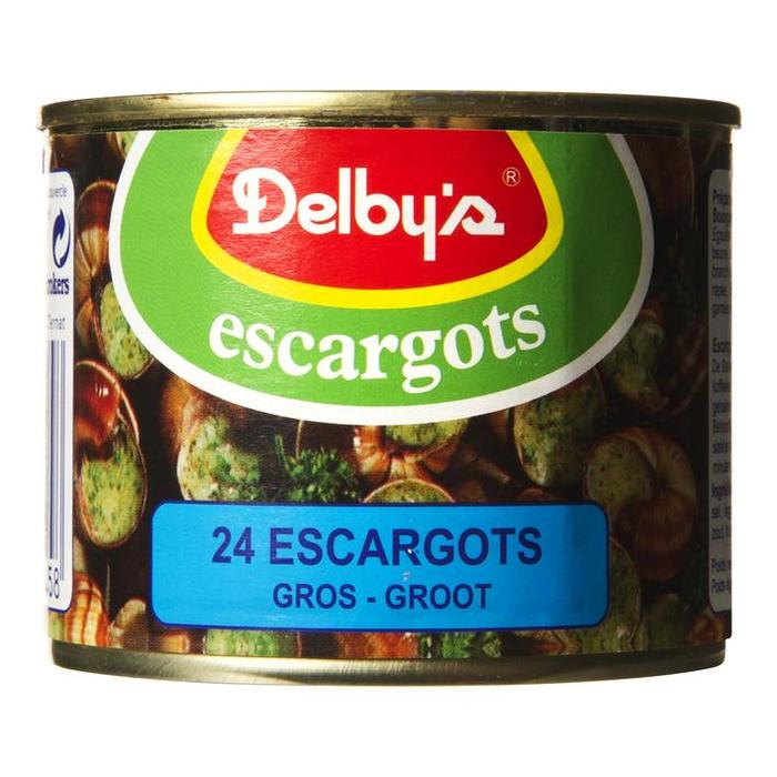 Delby's Escargots (24 × 170g)
