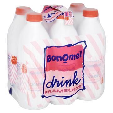 Bonomel Drink Framboos 6 x 1 ltr (6 × 1kg)