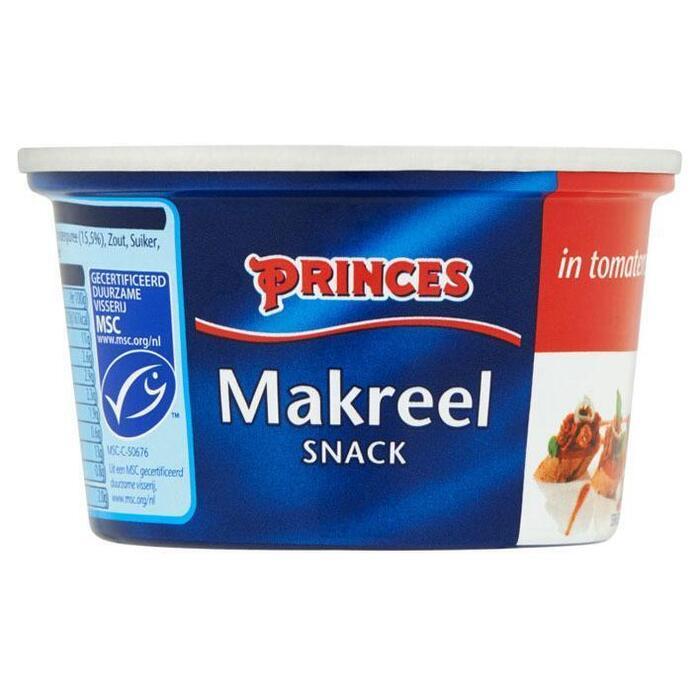 Makreel Snack in Tomatensaus (blik, 125g)