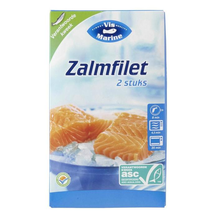 Zalmfilet (doos, 250g)