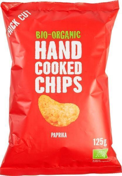 Handcooked chips paprika (125g)
