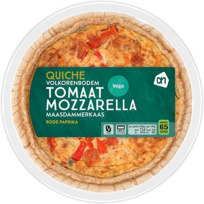 AH Volkoren quiche tomaat mozzarella (300g)