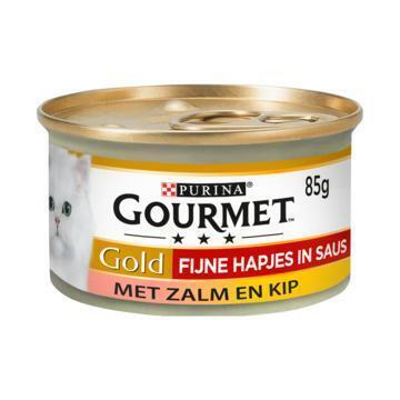 Gourmet Gold Zalm en Kip (85g)