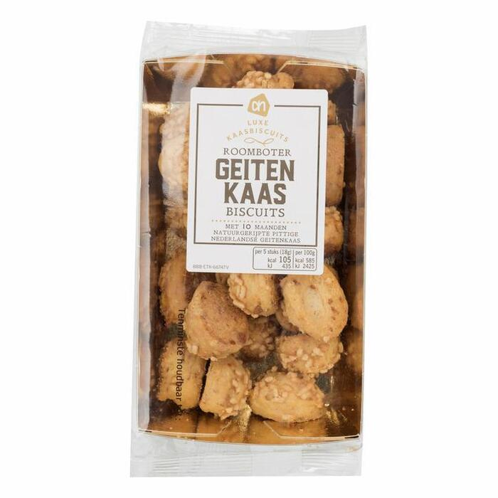 AH Excellent Geitenkaas biscuits (100g)