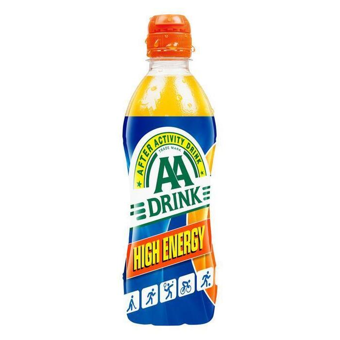 AA Drink High Energy (rol, 50 × 0.5L)