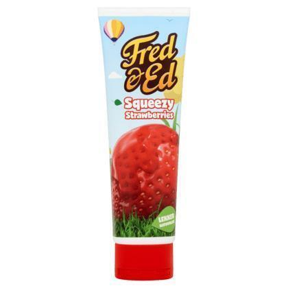 Fred & Ed Squeezy strawberries (350g)