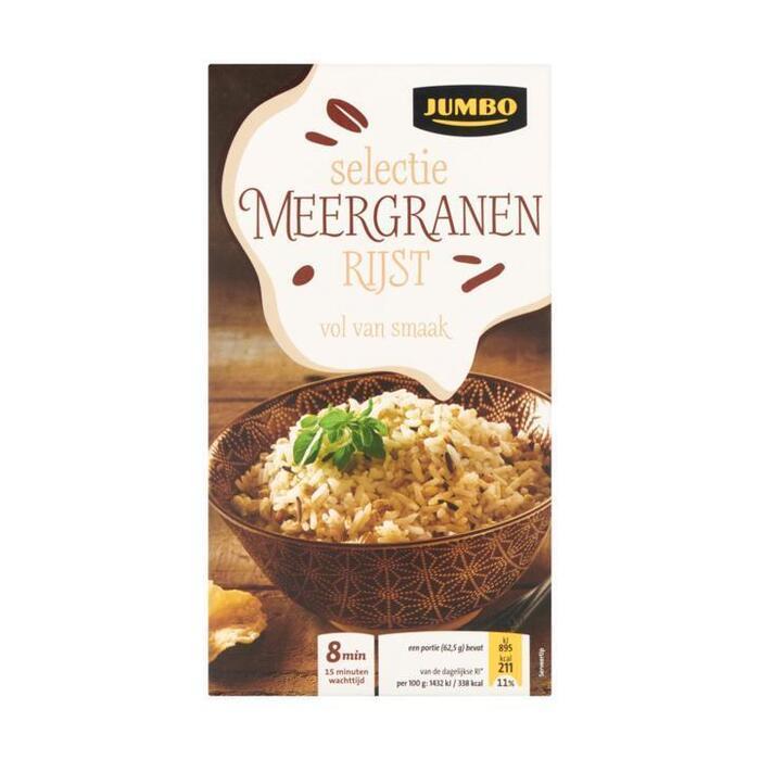 Jumbo Selectie Meergranen Rijst 275 g (275g)