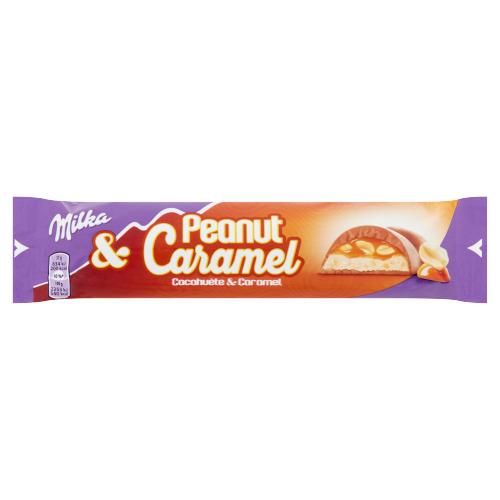 Milka Peanut & Caramel 37 g (37g)