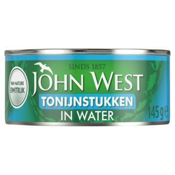 John West Tonijnstukken in water (145g)