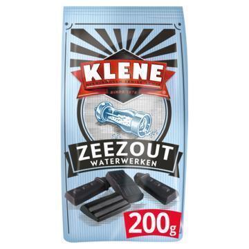 Zeezout waterwerken drop (Stuk, 200g)