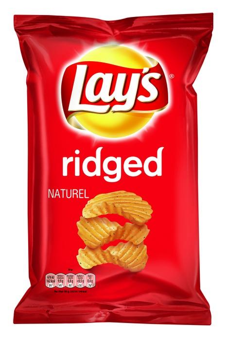 Lay's Aardappelchips Ridged Naturel 175 g (175g)