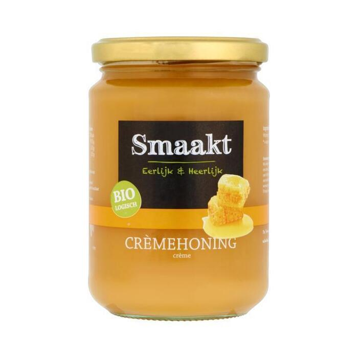 Biologisch Crèmehoning (pot, 500g)