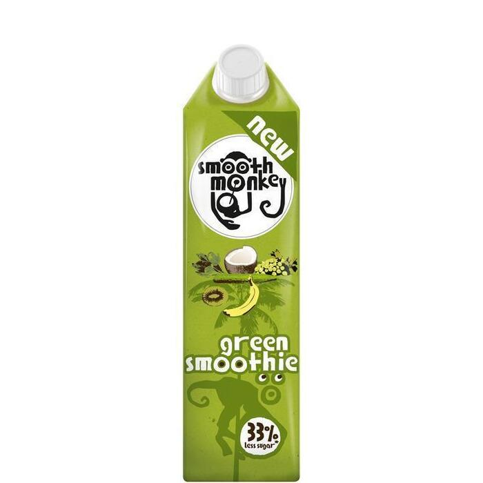 Smooth monkey Green smoothie (1L)