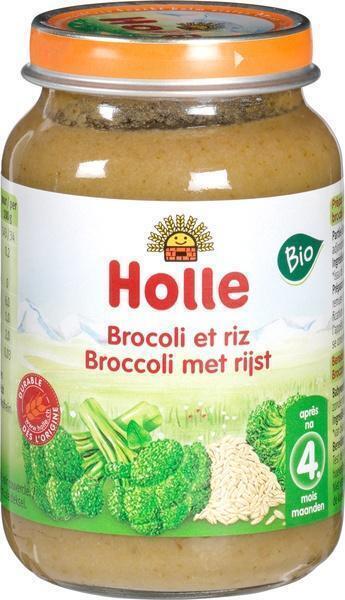 Broccoli met rijst 4+ (190g)