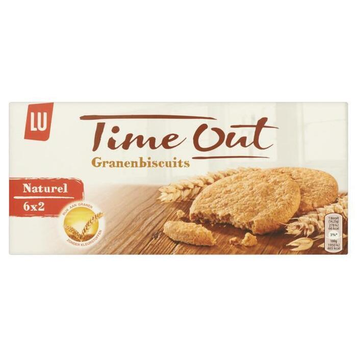 Time out granenbiscuits naturel (Stuk, 171g)