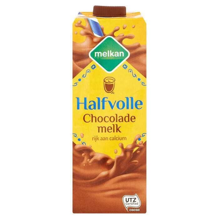 Melkan Halfvolle chocolademelk (1L)
